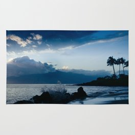 Polo Beach Dreams Maui Hawaii Rug