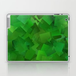 Cubed grass ... Laptop & iPad Skin