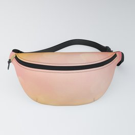 Orange Pink Bokeh Shine Pattern Fanny Pack