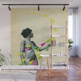 She's a Whirlwind Wall Mural