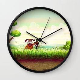 Duck Hunt Wall Clock