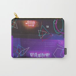 Neon Geometry.. Carry-All Pouch