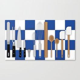 Cooking Tools Canvas Print