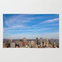 Montreal Skyline Rug