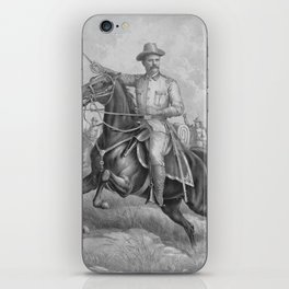 Colonel Theodore Roosevelt On Horseback iPhone Skin