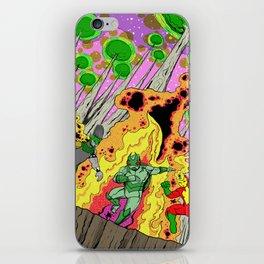 Shamanic Fire Dance iPhone Skin