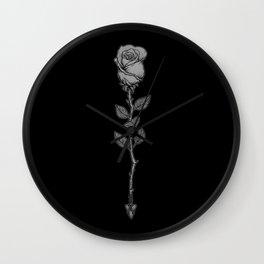 Deadly Love Wall Clock