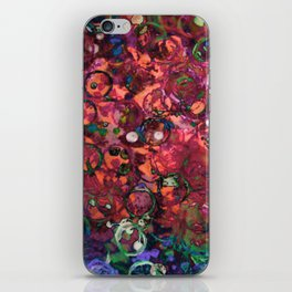 bottlecap roses iPhone Skin