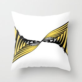 Whirlpool inspired by nature- Wave disturbance Throw Pillow