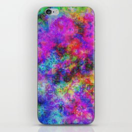 Abstract colors iPhone Skin