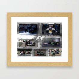F1 Collection Framed Art Print