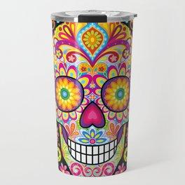 Sugar Skull Art (Spark) Travel Mug
