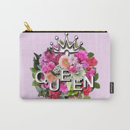 Queen Floral Bouquet Carry-All Pouch