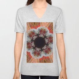 Kaleidoscope Decor 7 Unisex V-Neck