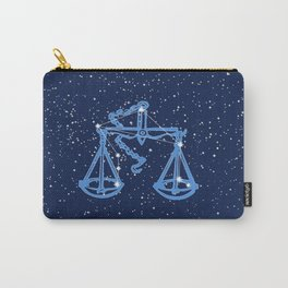 Libra Constellation and Zodiac Sign with Stars Carry-All Pouch