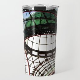 Domed Roof in Colour Travel Mug