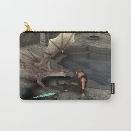 Dragon with his companion Carry-All Pouch