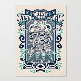 Reunion Tour Canvas Print