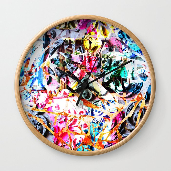 Craziness Wall Clock