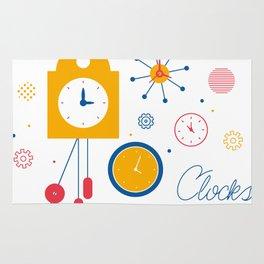 Clocks Rug