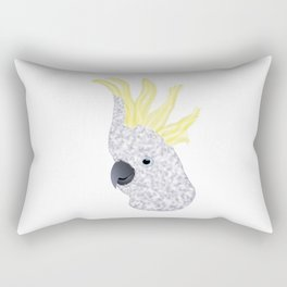 Cockatoo Parrot Rectangular Pillow