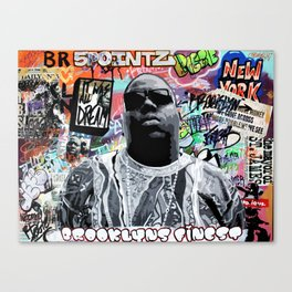 Brooklyns Finest Canvas Print