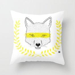 Zorrito Throw Pillow