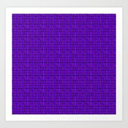 irregular tiles Art Print