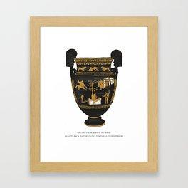 Celtus Panthera Tigris (Irish Government) Framed Art Print