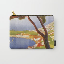Ischia Island Italy summer travel ad Carry-All Pouch