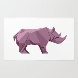 Origami Rhino Rug