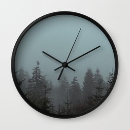 Pacific Trees Wall Clock