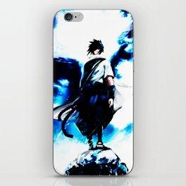 uciha sasuke iPhone Skin