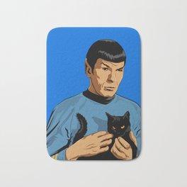 Spock's cat Bath Mat