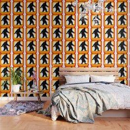 Retro Sasquatch Wallpaper