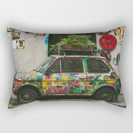 Funky Car Rectangular Pillow