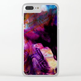 Fluid Abstract 26 Clear iPhone Case