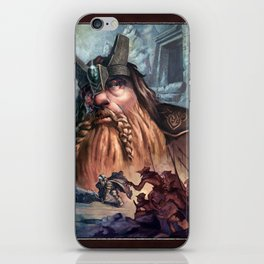 Kingdom of the Felsen iPhone Skin