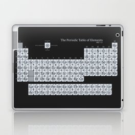 Grayscale Periodic Table of Elements Laptop & iPad Skin