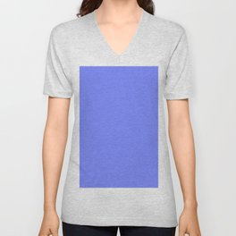 Periwinkle Blue Unisex V-Neck