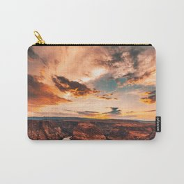 horse shoe bend canyon Carry-All Pouch