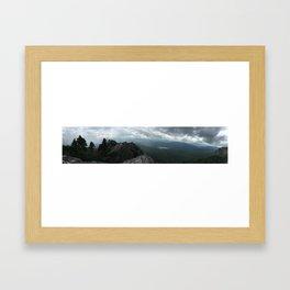 Grandfather Mountain NC Framed Art Print