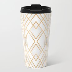 Golden Geo Travel Mug