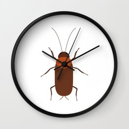 Cockroach Wall Clock