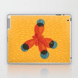 Orange Methane Molecule Laptop & iPad Skin