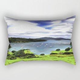 Moturoa Island Rectangular Pillow