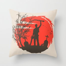 Boomstick Throw Pillow