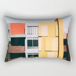 Los Angeles Architecture Rectangular Pillow