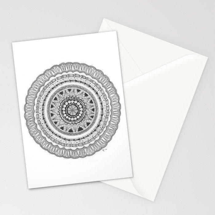 Zendala - Zentangle®-Inspired Art - ZIA 16 Stationery Cards