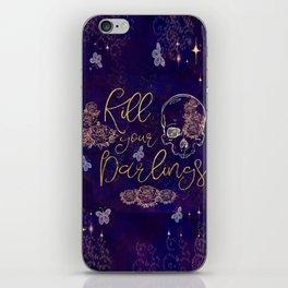 Kill Your Darlings iPhone Skin
